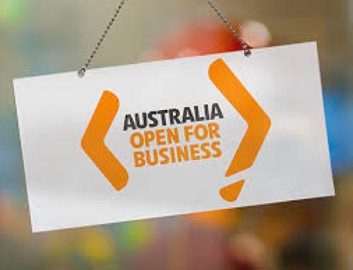 Australia – Open for Business!