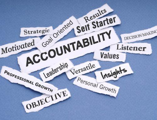 Increase Accountability to Improve Performance