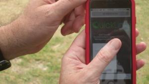 Quicklinks: phone closeup