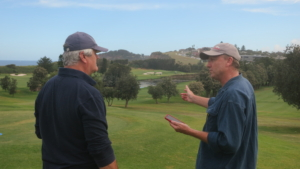 GrowEQ: Matt Murphy explaining Quicklinks on the golf course