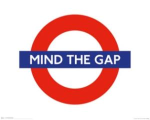 GrowEQ: Mind the Gap sign
