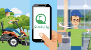 Quicklinks: using phone app on golf course